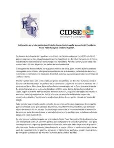 20180117 Declaración indulto Fujimori CIDSE PEP-page-001